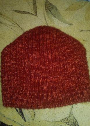 Очень теплая шапочка