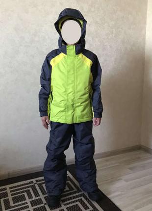 Лыжный термо костюм на рост 146-152см