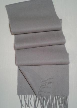Шарфик шерстяной тканый