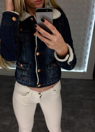 Утипленая джинсовка