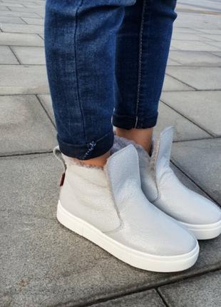 Высокие зимние слипоны разные цвета зимние спортивные ботинки размеры: 34–41