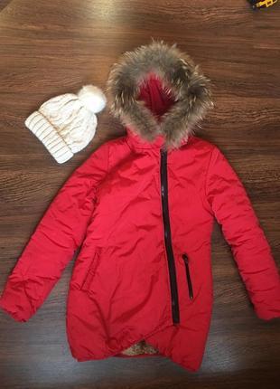 Зимняя куртка moncler зимнее пальто
