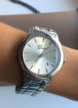 Часы женские geneva new ( silver )