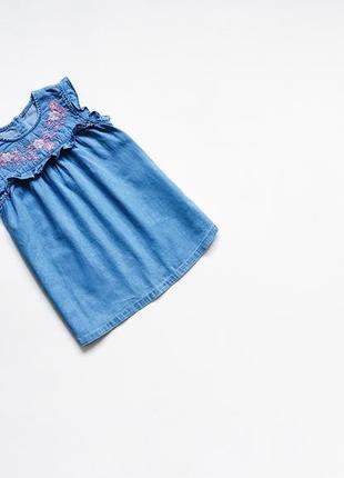 Стильная джинсовая туника
