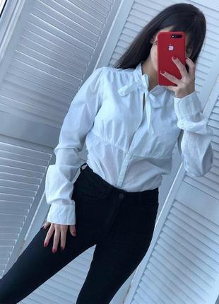 Стильный бодик рубашка размер м