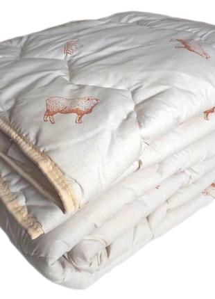 Одеяло шерстяное стеганое тм вилюта premium