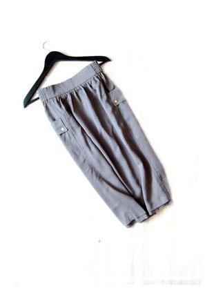 Новая крутая миди юбка label be с накладными карманами