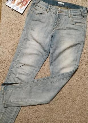 Promod cтильные джинсы с молниями внизу