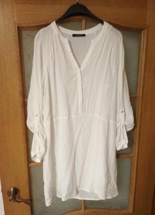 Классное платье рубашка от mango, p. xl
