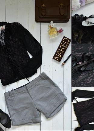 !!!окончательная распродажа!!!кружевная блуза с рюшами black lady