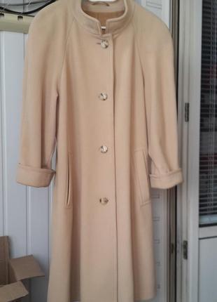 Petite mademoiselle кашемировое пальто шерсть кашемир