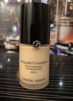 Оригинал! giorgio armani lasting silk uv foundation, армани тон 5,5