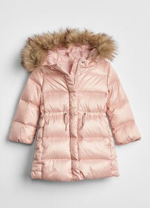 Пуховик gap р.5 лет, пуховое пальто, max down puffer jacket