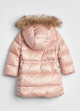 Пуховик gap р.5 лет, пуховое пальто, max down puffer jacket2
