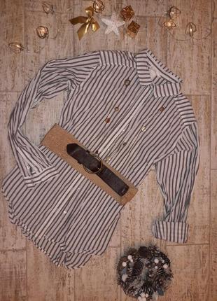 Нова блуза h&m полоска