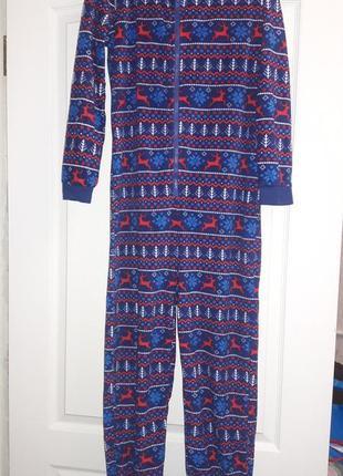 Пижама человечек теплий