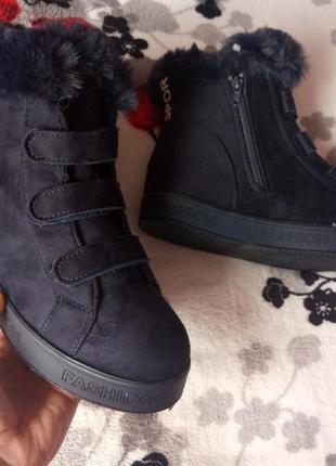 Зимние ботинки 36,38 размеры