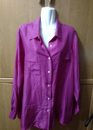 Блуза италия шелк
