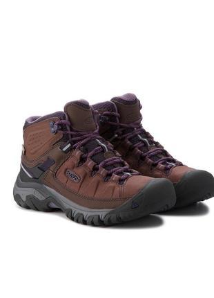 Треккинговые  водонепроницаемые ботинки keen