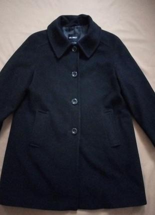 Классическое пальто, шерсть/кашемир