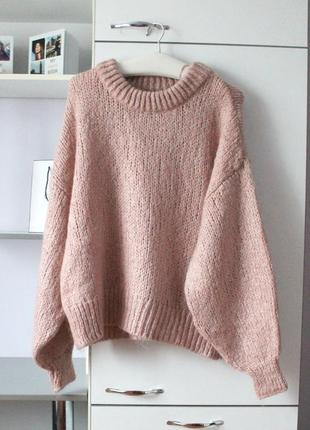 Крутой оверсайз свитер zara
