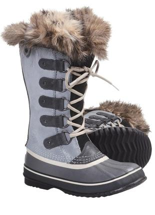 41 разм. зима sorel waterproof. не промокают