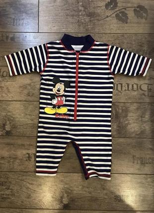 Купальный костюм для малыша disney mickey mouse 9-12 месяцев 80 см