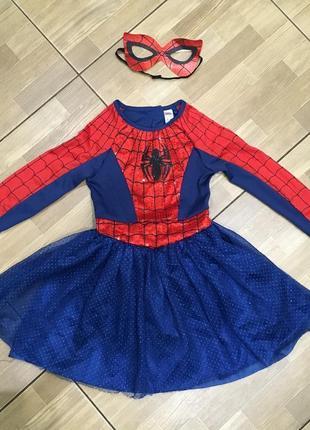 Карнавальный костюм человек пауков 5-6 лет