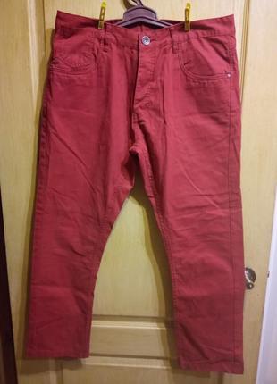 Молодежные брюки джинсы new york