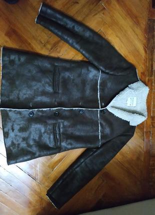 Дубленка mango куртка парка