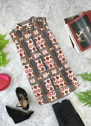 Веселая блуза с орнаментом  bl1848099 h&m