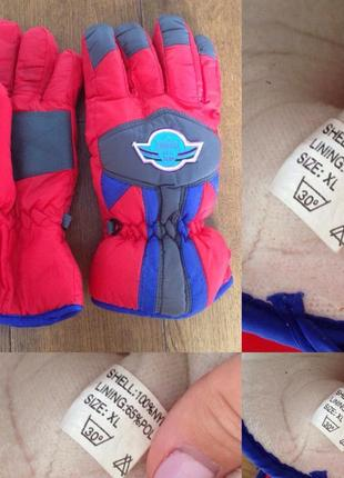 Лыжные перчатки р. xl,  8.5