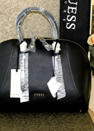 Продам кожаную сумку guess luxe. 100%оригинал кожа сафьяно Guess ... d2390328378