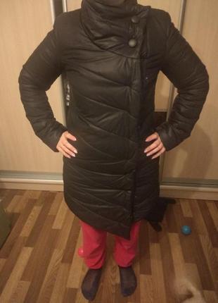 Зимнее пальто очень теплое