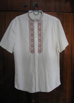 Сорочка вышитая, вышиванка, ручная вышивка по полотну