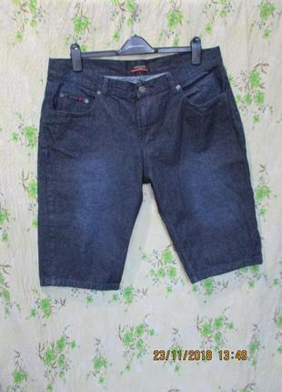 Красивые джинсовые шорты/ до колена