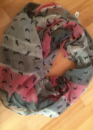 Стильний палантин шарф від еспріт