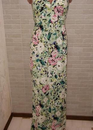Сарафан в пол длинное платье макси