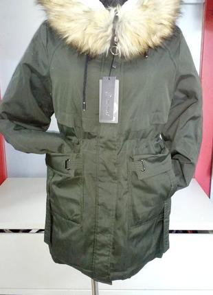 Зимова жіноча парка, куртка