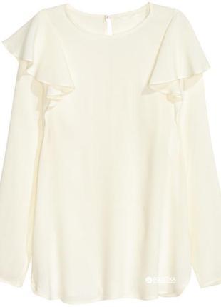 Блуза с рюшами h&m/xl-xxl