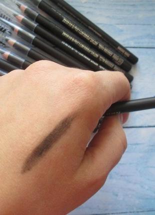 Карандаш для бровей с щёточкой - оттенок dark brown