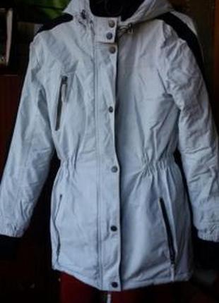 Белые женские утепленные куртки 2019 - купить недорого вещи в ... dd85301716f