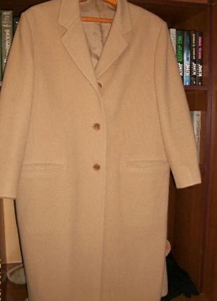 Шикарное кашемир пальто