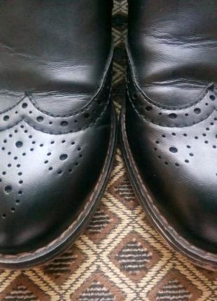 Ботинки челси полусапожки низкий каблук