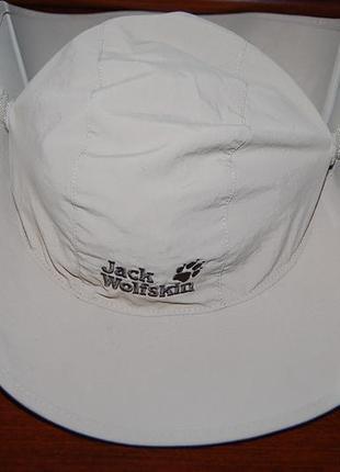 Шляпа панама, походная, туристическая  jack wolfskin, оригинал, в стиле the north face