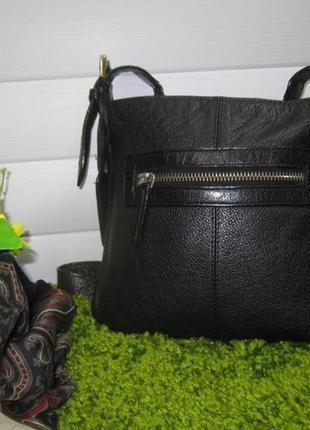 Кожаная сумка английского бренда  debenhams