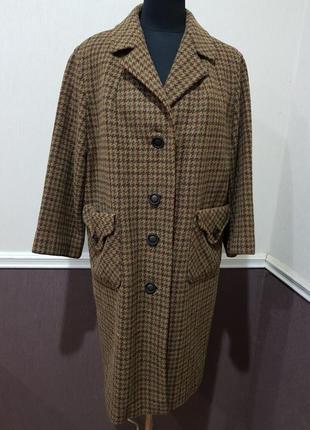 Пальто в клетку max kurt