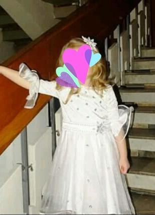 Костюм снежинки , платье снежинки  ,нарядное платье3