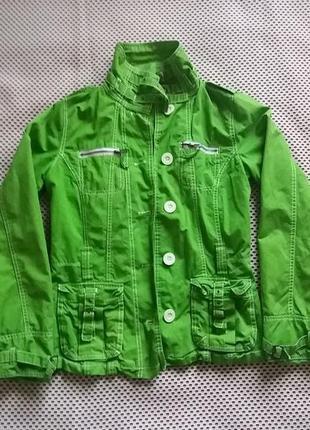 Куртка салатова