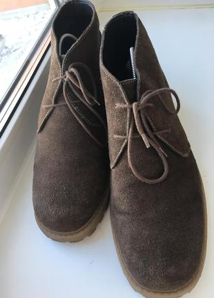 Мужские ботинки, 46р
